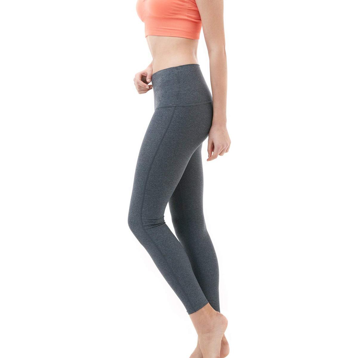 thumbnail 9 - TSLA Tesla FYP52 Women's High-Waisted Ultra-Stretch Tummy Control Yoga Pants