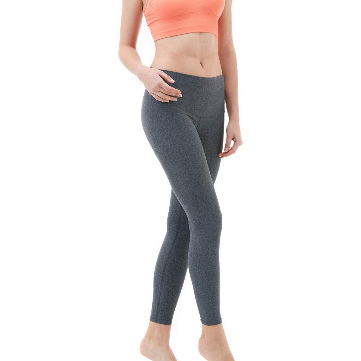 thumbnail 10 - TSLA Tesla FYP52 Women's High-Waisted Ultra-Stretch Tummy Control Yoga Pants