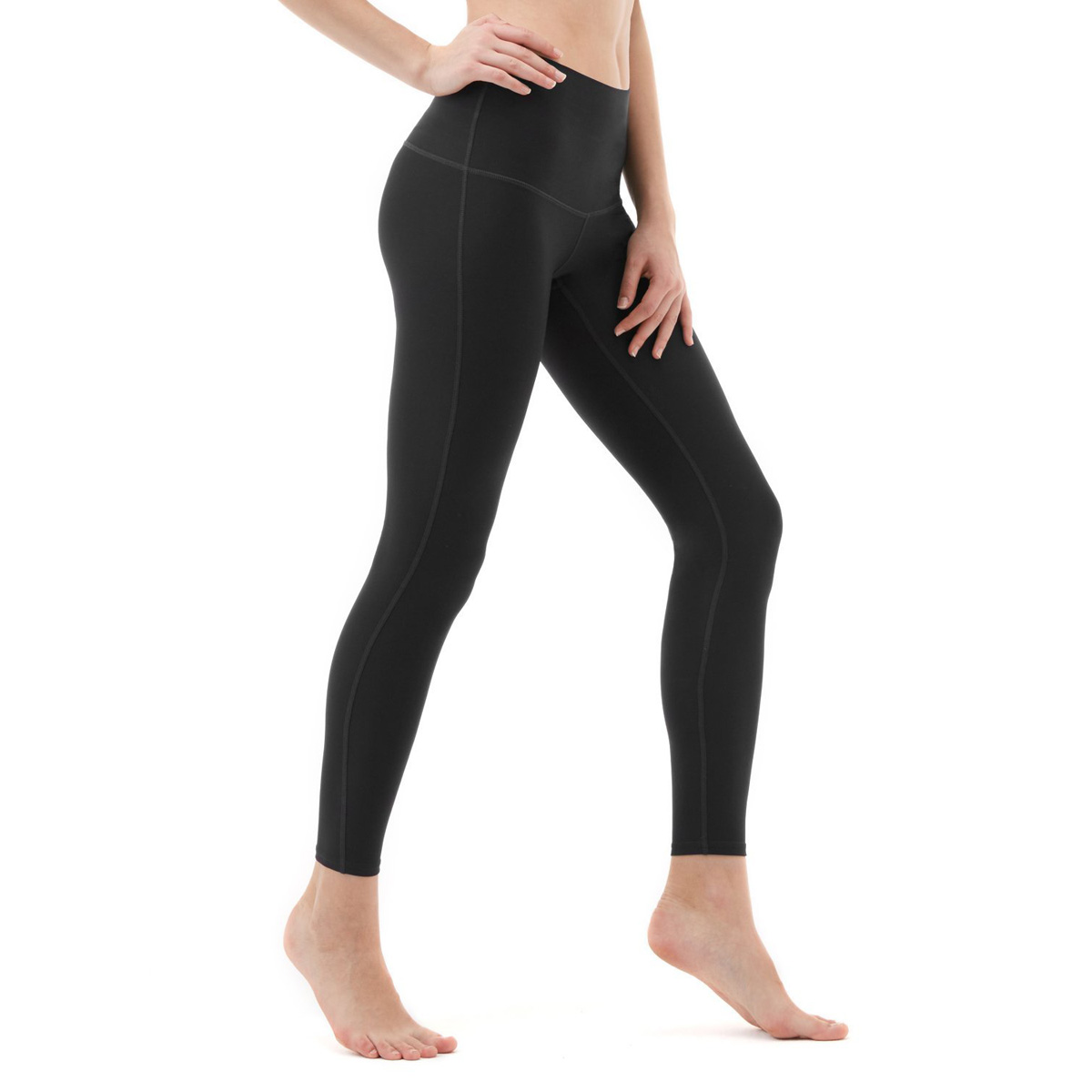 thumbnail 21 - TSLA Tesla FYP42 Women's High-Waisted Ultra-Stretch Tummy Control Yoga Pants