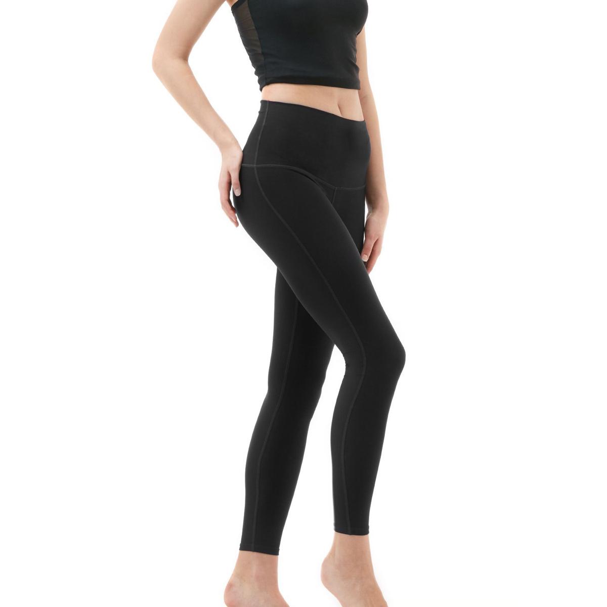 thumbnail 23 - TSLA Tesla FYP42 Women's High-Waisted Ultra-Stretch Tummy Control Yoga Pants