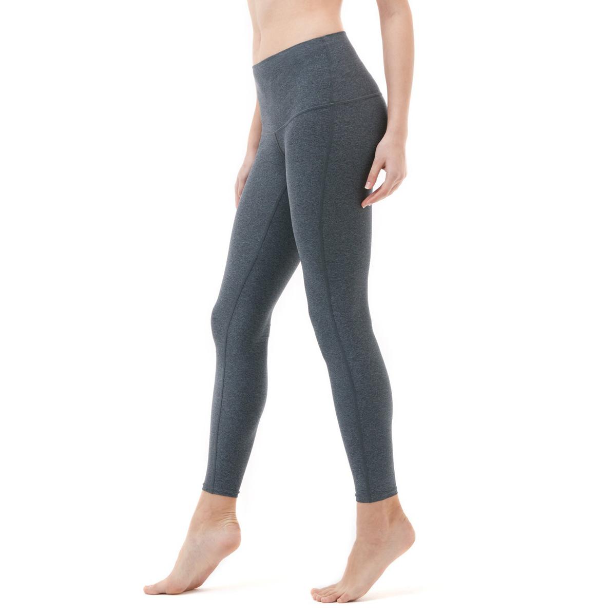 thumbnail 9 - TSLA Tesla FYP42 Women's High-Waisted Ultra-Stretch Tummy Control Yoga Pants