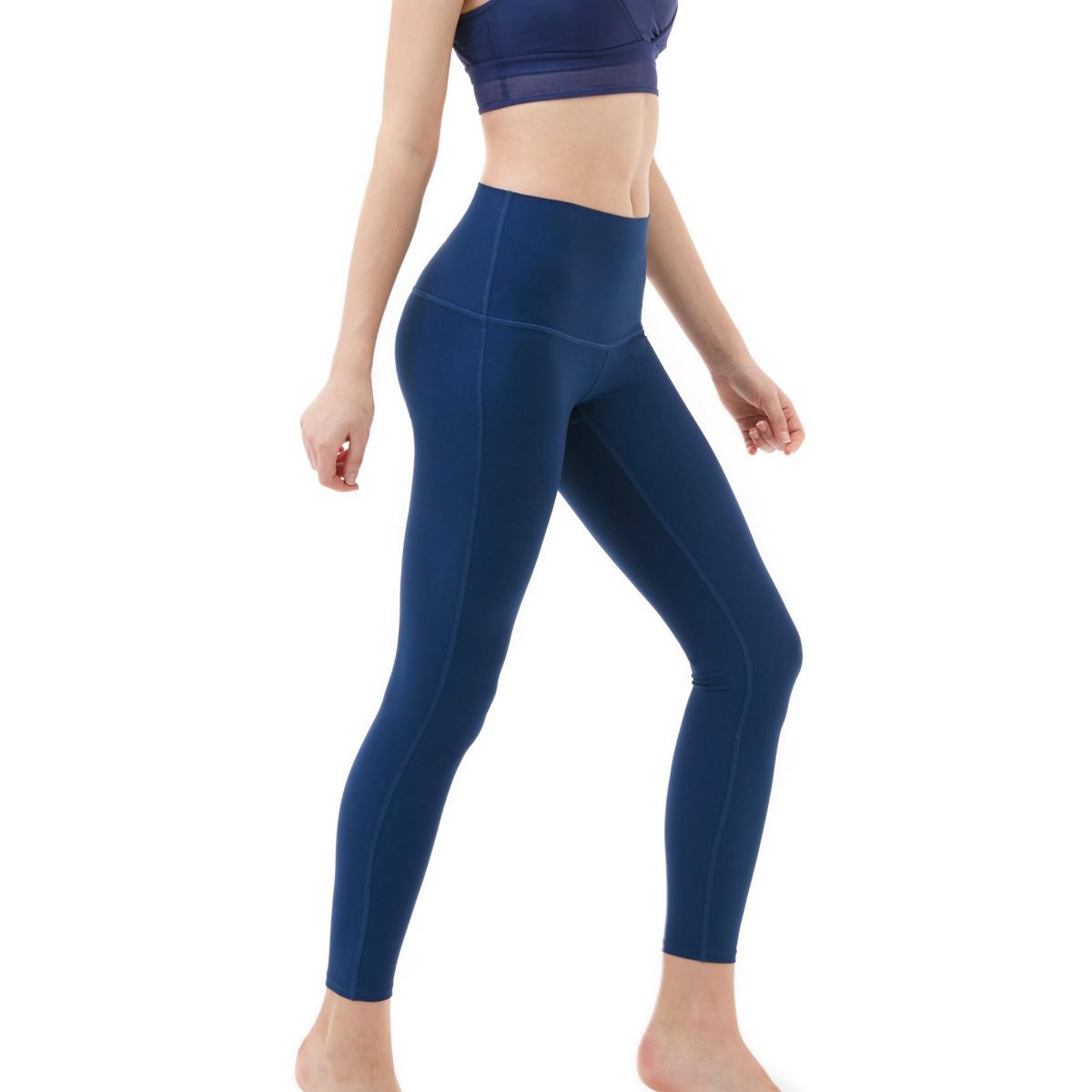 thumbnail 43 - TSLA Tesla FYP42 Women's High-Waisted Ultra-Stretch Tummy Control Yoga Pants