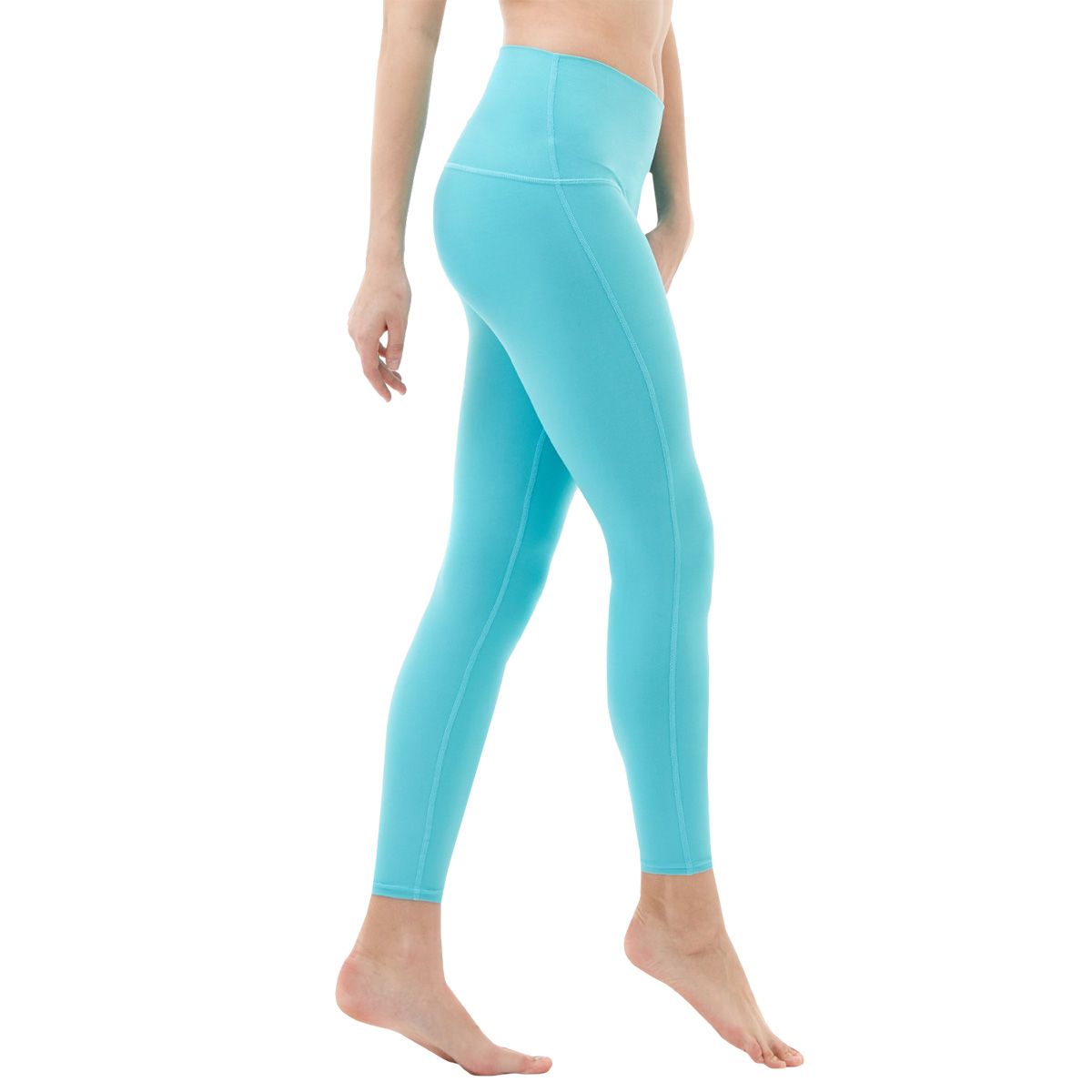 thumbnail 4 - TSLA Tesla FYP42 Women's High-Waisted Ultra-Stretch Tummy Control Yoga Pants