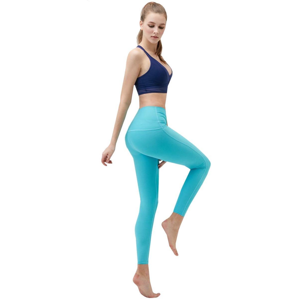 thumbnail 6 - TSLA Tesla FYP42 Women's High-Waisted Ultra-Stretch Tummy Control Yoga Pants