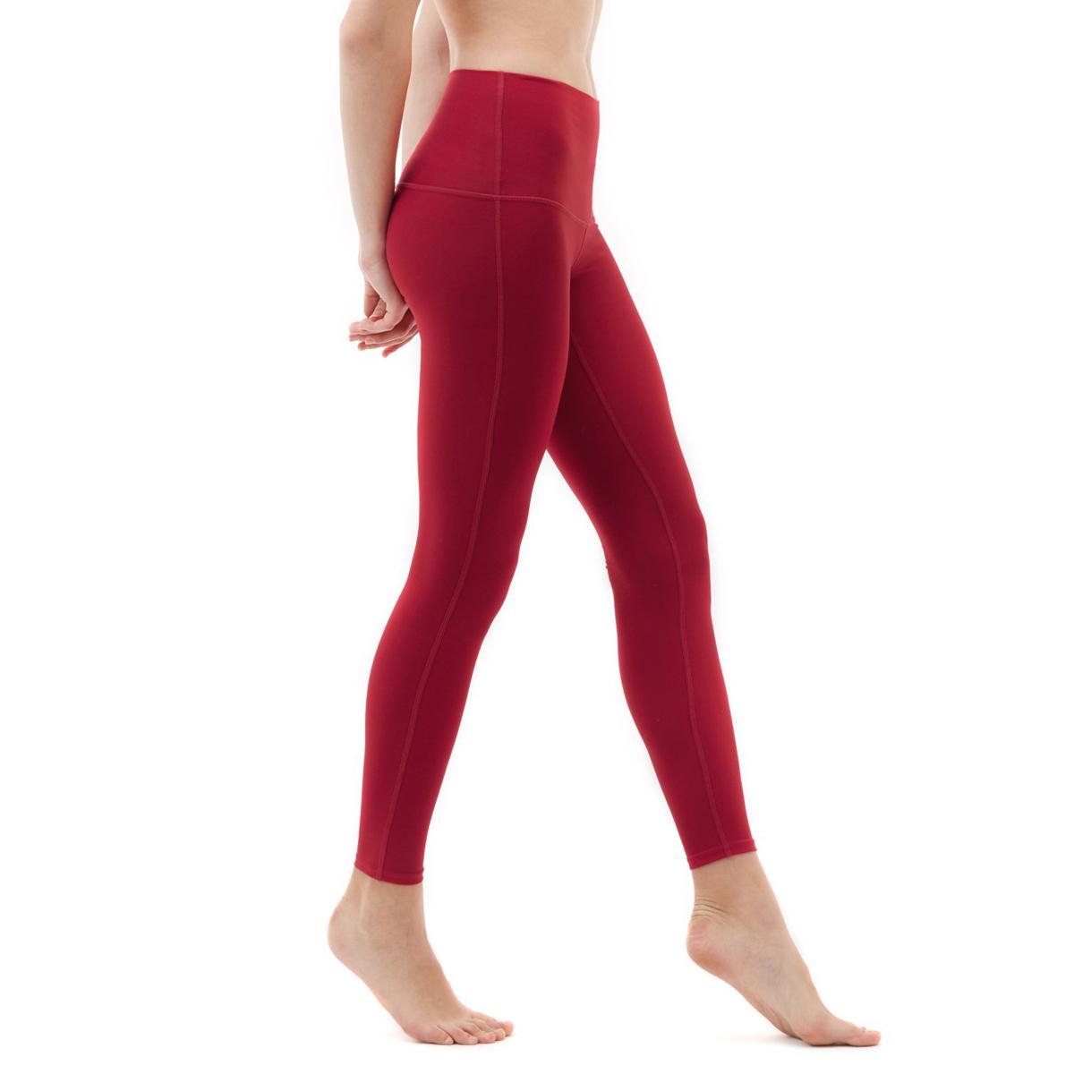 thumbnail 71 - TSLA Tesla FYP42 Women's High-Waisted Ultra-Stretch Tummy Control Yoga Pants