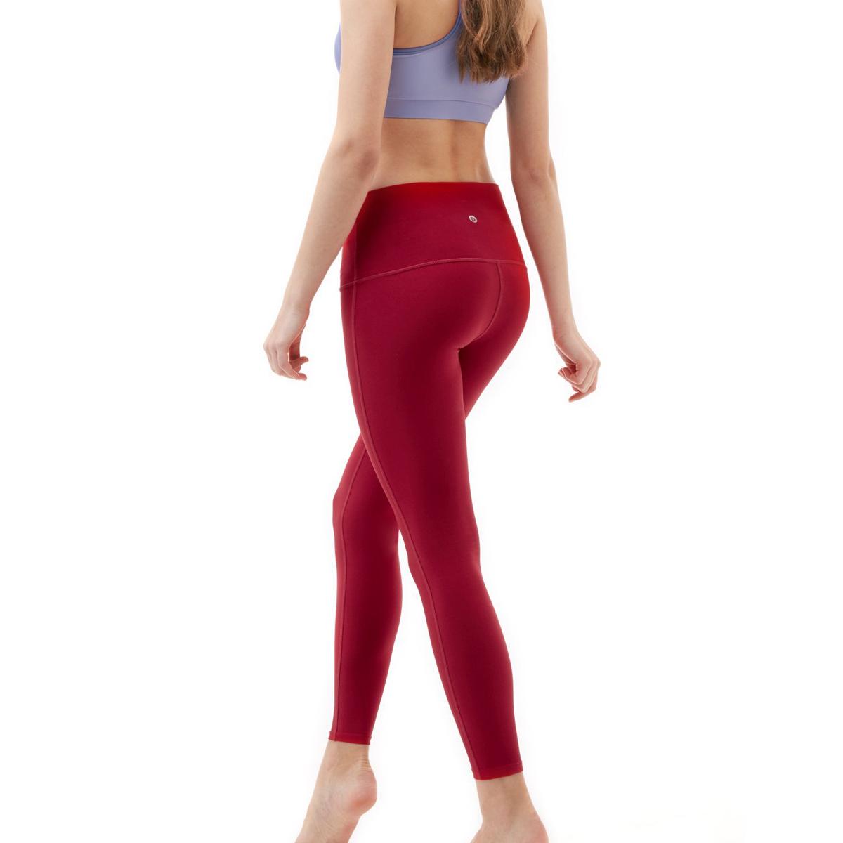 thumbnail 72 - TSLA Tesla FYP42 Women's High-Waisted Ultra-Stretch Tummy Control Yoga Pants