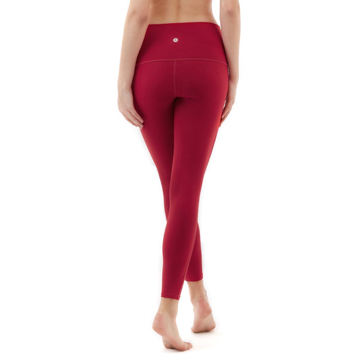 thumbnail 74 - TSLA Tesla FYP42 Women's High-Waisted Ultra-Stretch Tummy Control Yoga Pants