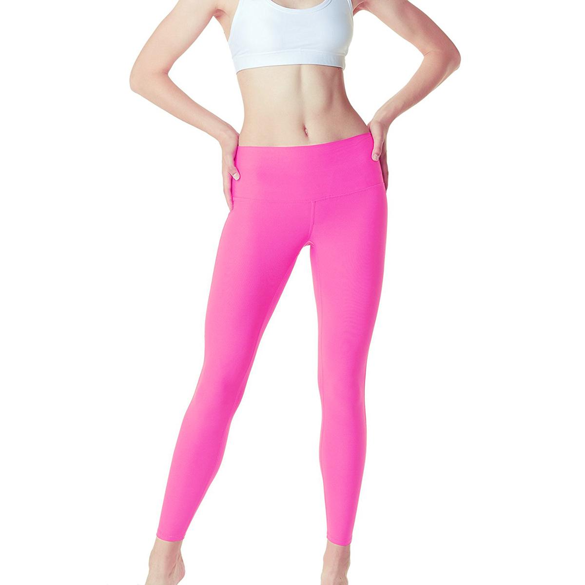 thumbnail 49 - TSLA Tesla FYP42 Women's High-Waisted Ultra-Stretch Tummy Control Yoga Pants