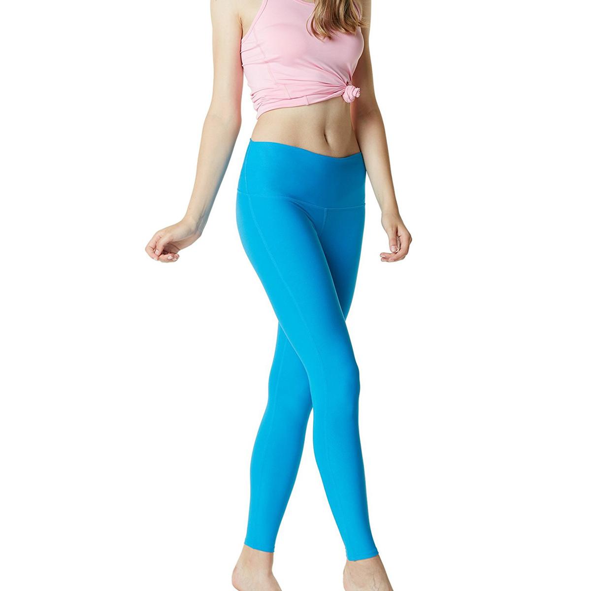 thumbnail 68 - TSLA Tesla FYP42 Women's High-Waisted Ultra-Stretch Tummy Control Yoga Pants