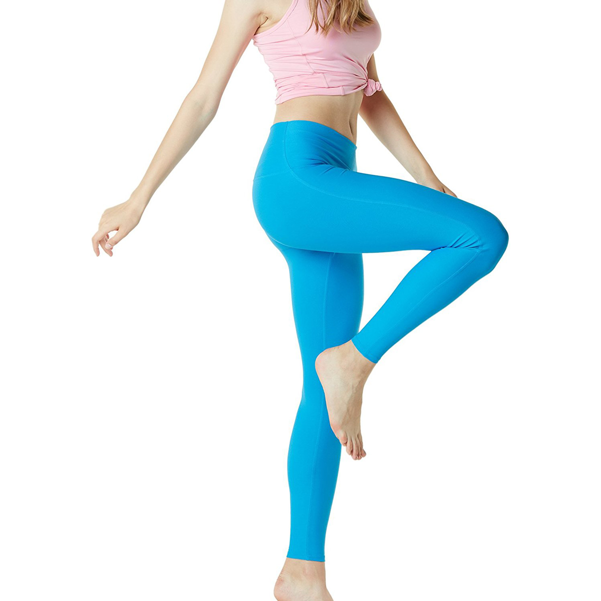 thumbnail 70 - TSLA Tesla FYP42 Women's High-Waisted Ultra-Stretch Tummy Control Yoga Pants