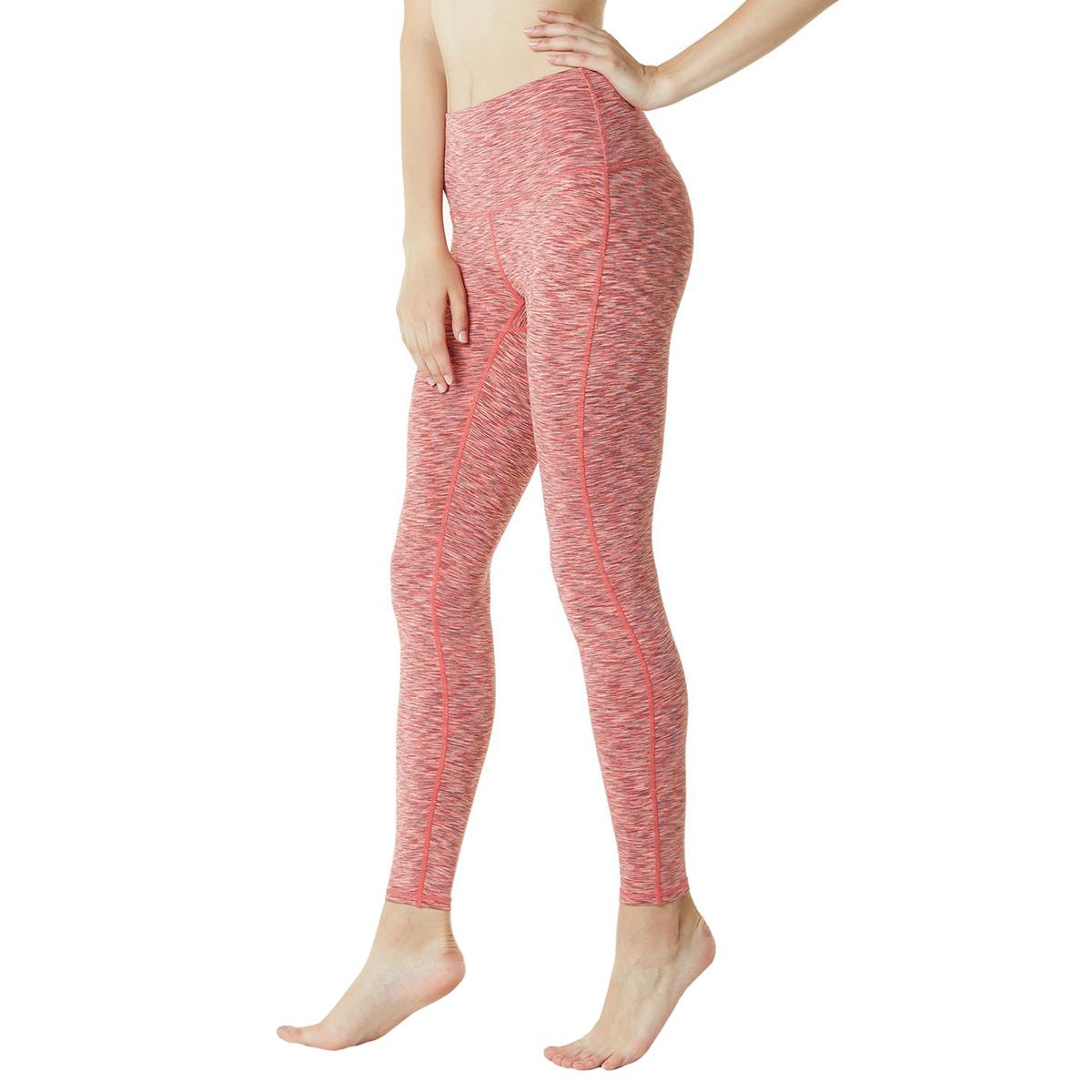 thumbnail 88 - TSLA Tesla FYP42 Women's High-Waisted Ultra-Stretch Tummy Control Yoga Pants