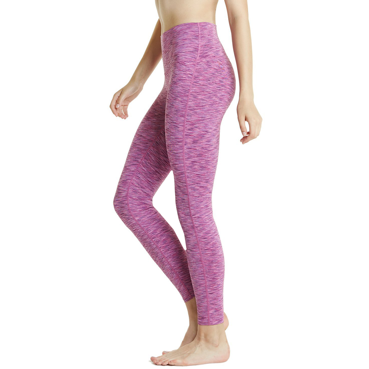 thumbnail 96 - TSLA Tesla FYP42 Women's High-Waisted Ultra-Stretch Tummy Control Yoga Pants