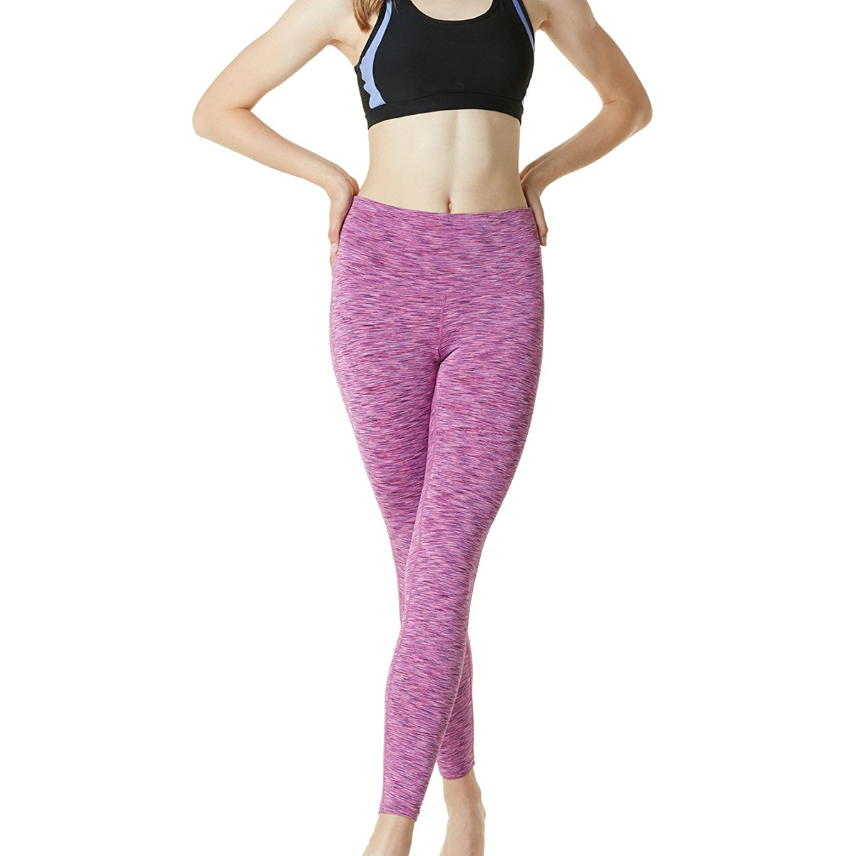 thumbnail 93 - TSLA Tesla FYP42 Women's High-Waisted Ultra-Stretch Tummy Control Yoga Pants