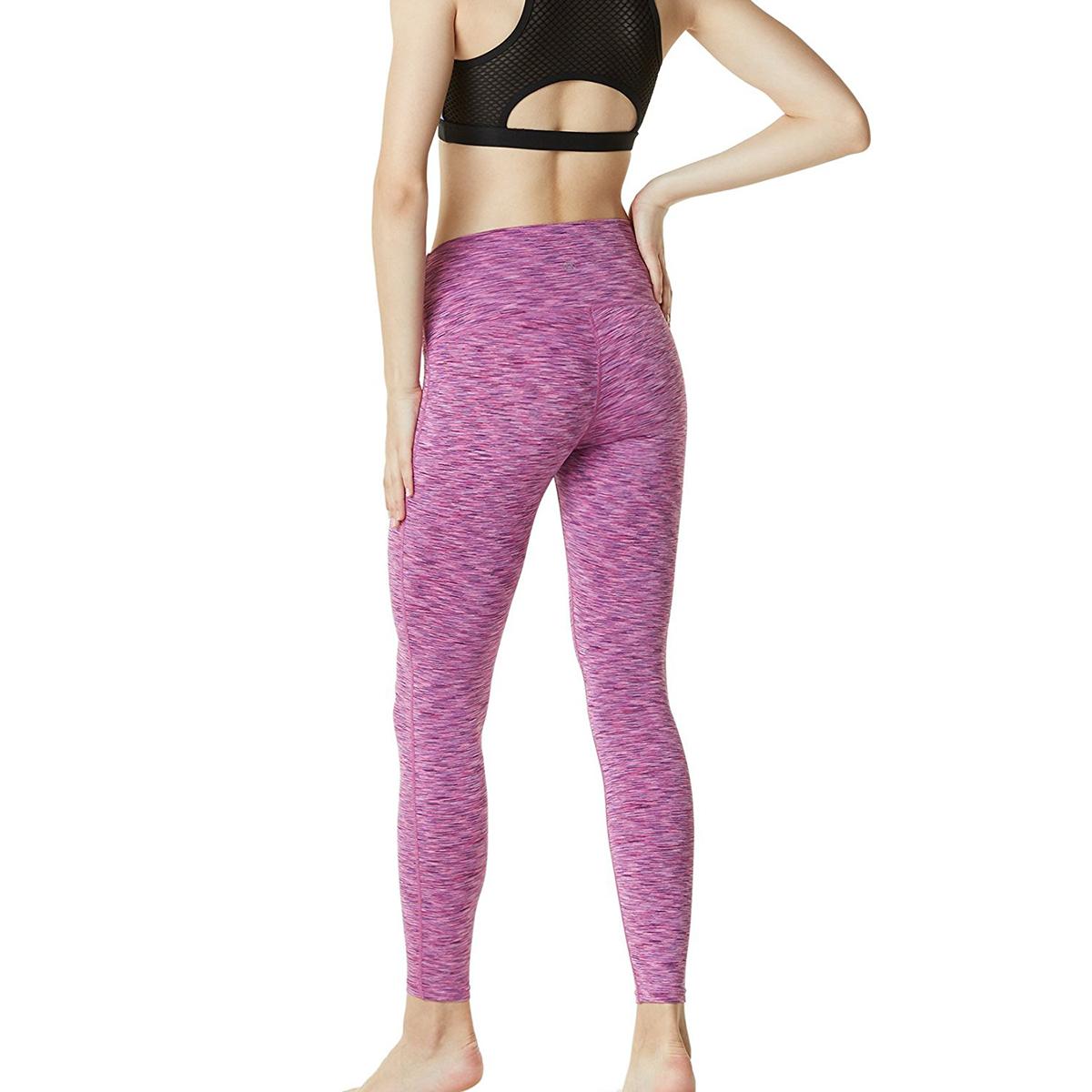 thumbnail 94 - TSLA Tesla FYP42 Women's High-Waisted Ultra-Stretch Tummy Control Yoga Pants