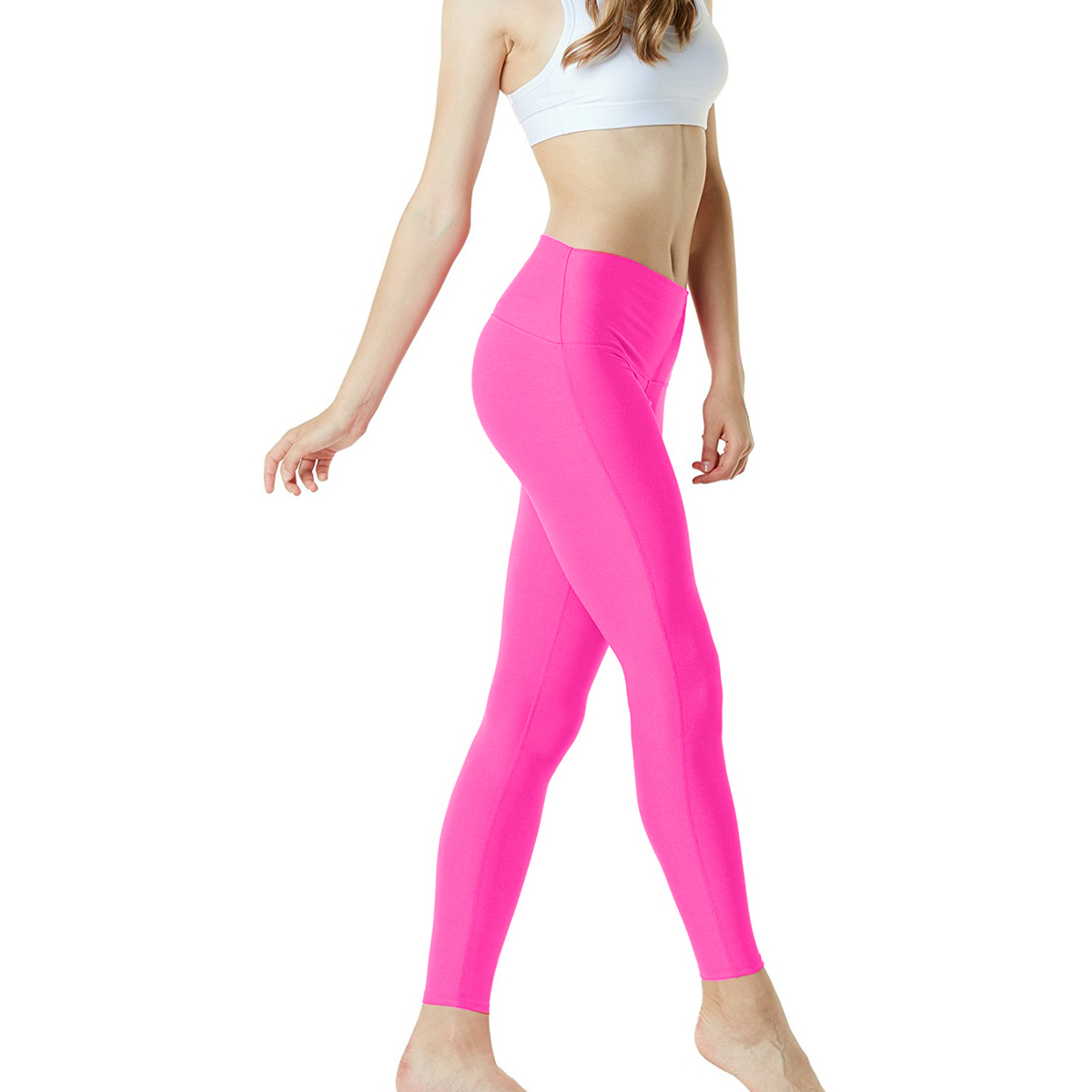 thumbnail 52 - TSLA Tesla FYP42 Women's High-Waisted Ultra-Stretch Tummy Control Yoga Pants