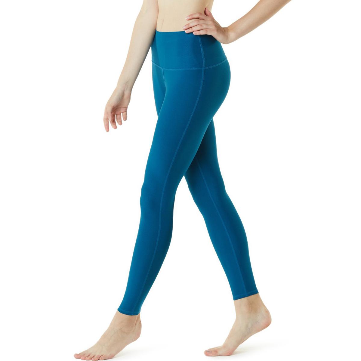thumbnail 36 - TSLA Tesla FYP42 Women's High-Waisted Ultra-Stretch Tummy Control Yoga Pants