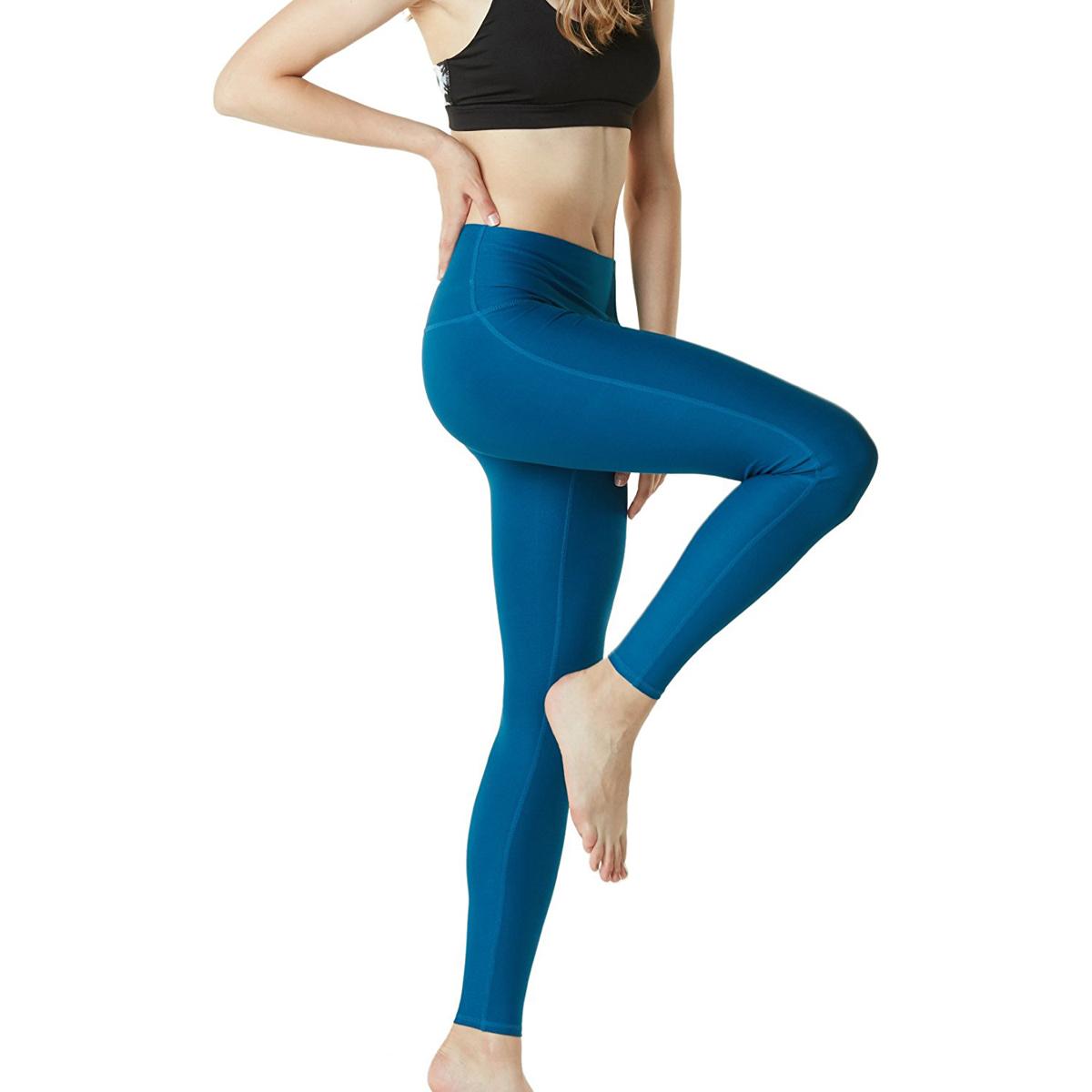 thumbnail 35 - TSLA Tesla FYP42 Women's High-Waisted Ultra-Stretch Tummy Control Yoga Pants