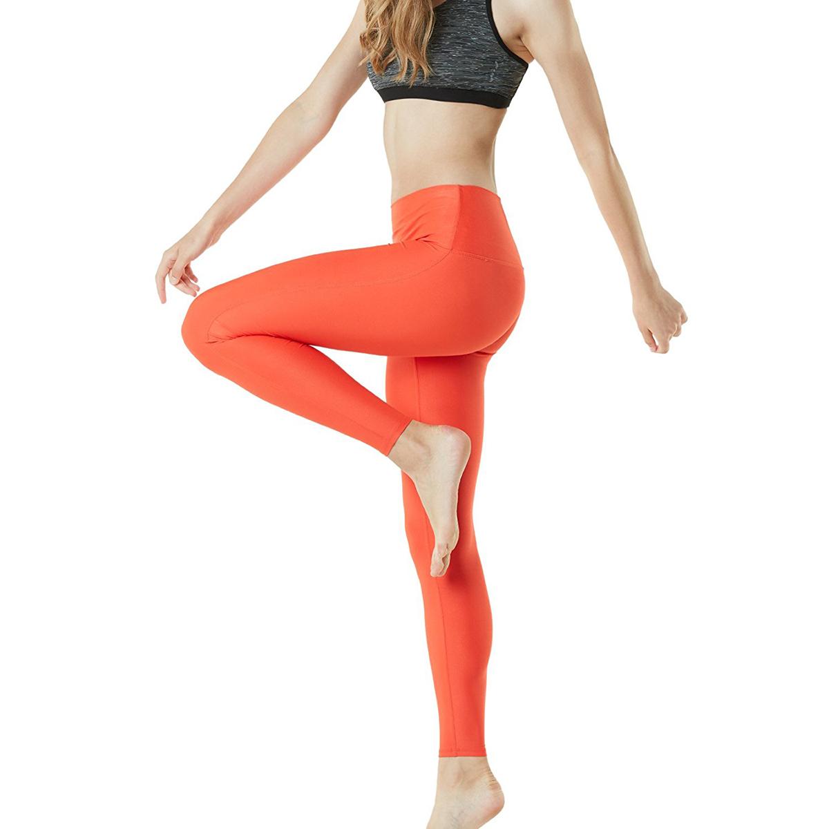 thumbnail 60 - TSLA Tesla FYP42 Women's High-Waisted Ultra-Stretch Tummy Control Yoga Pants