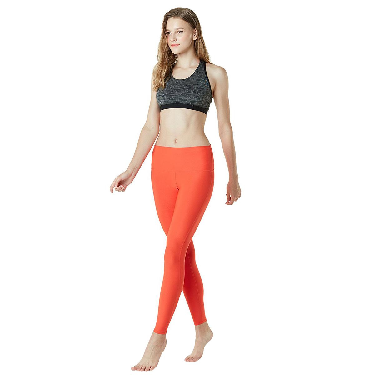 thumbnail 61 - TSLA Tesla FYP42 Women's High-Waisted Ultra-Stretch Tummy Control Yoga Pants