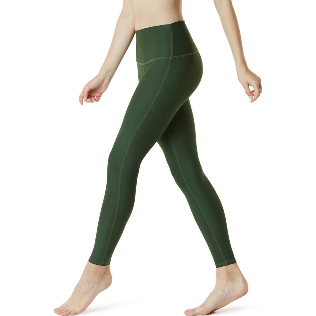 thumbnail 53 - TSLA Tesla FYP42 Women's High-Waisted Ultra-Stretch Tummy Control Yoga Pants