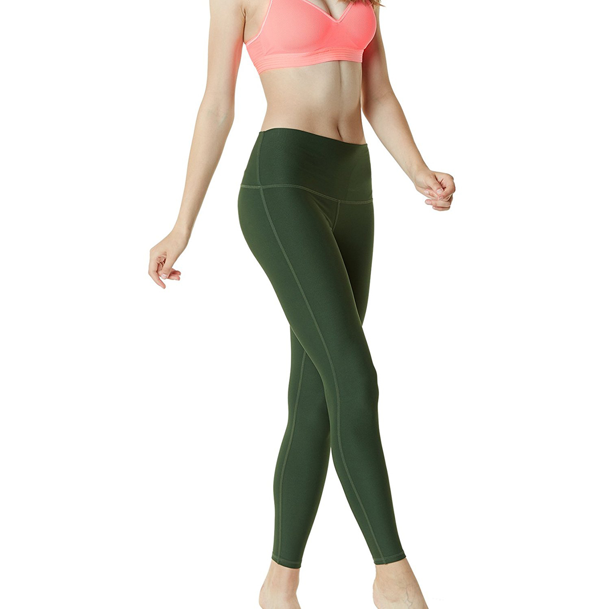 thumbnail 54 - TSLA Tesla FYP42 Women's High-Waisted Ultra-Stretch Tummy Control Yoga Pants