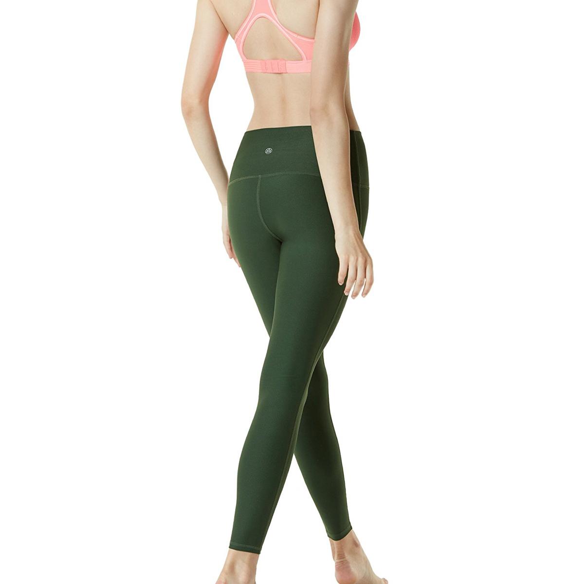 thumbnail 55 - TSLA Tesla FYP42 Women's High-Waisted Ultra-Stretch Tummy Control Yoga Pants