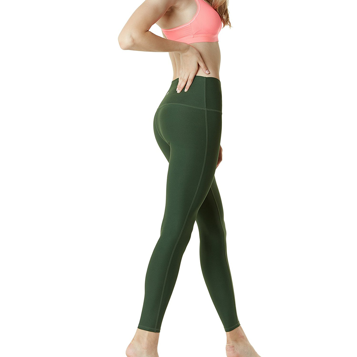 thumbnail 56 - TSLA Tesla FYP42 Women's High-Waisted Ultra-Stretch Tummy Control Yoga Pants
