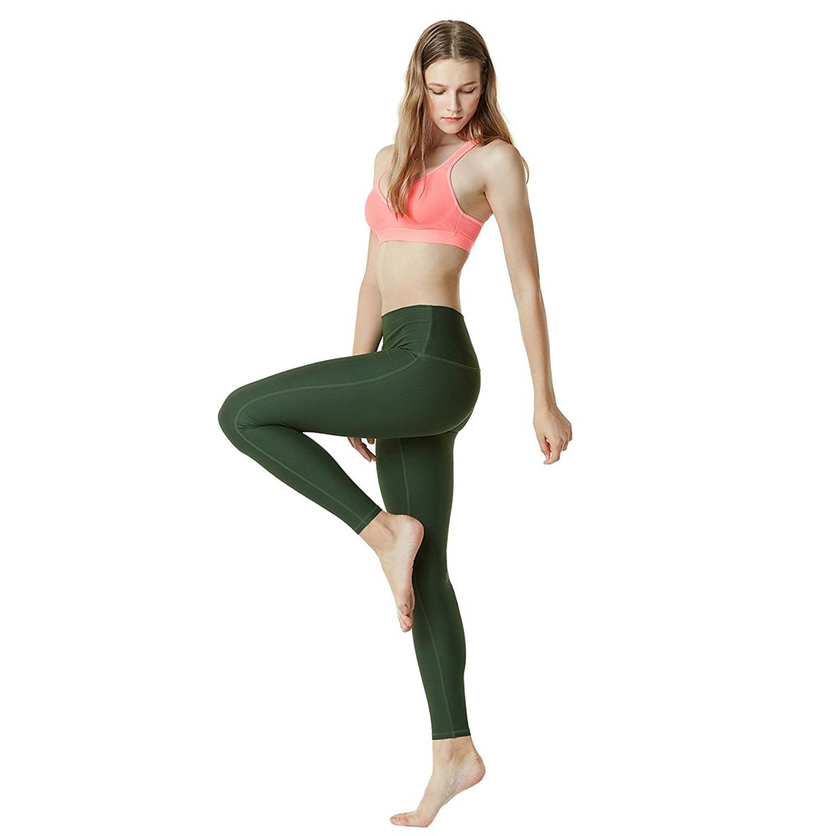 thumbnail 57 - TSLA Tesla FYP42 Women's High-Waisted Ultra-Stretch Tummy Control Yoga Pants