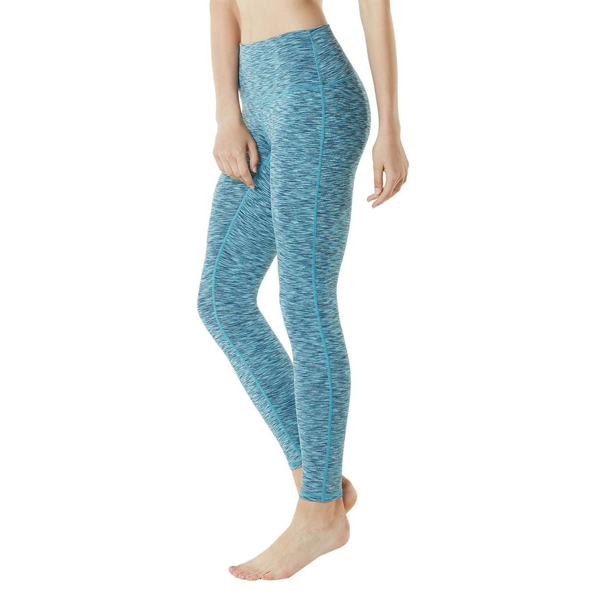 thumbnail 75 - TSLA Tesla FYP42 Women's High-Waisted Ultra-Stretch Tummy Control Yoga Pants