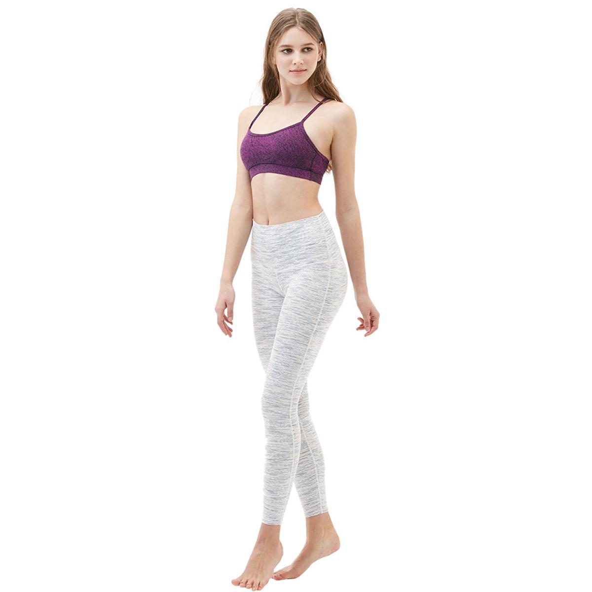 thumbnail 105 - TSLA Tesla FYP42 Women's High-Waisted Ultra-Stretch Tummy Control Yoga Pants