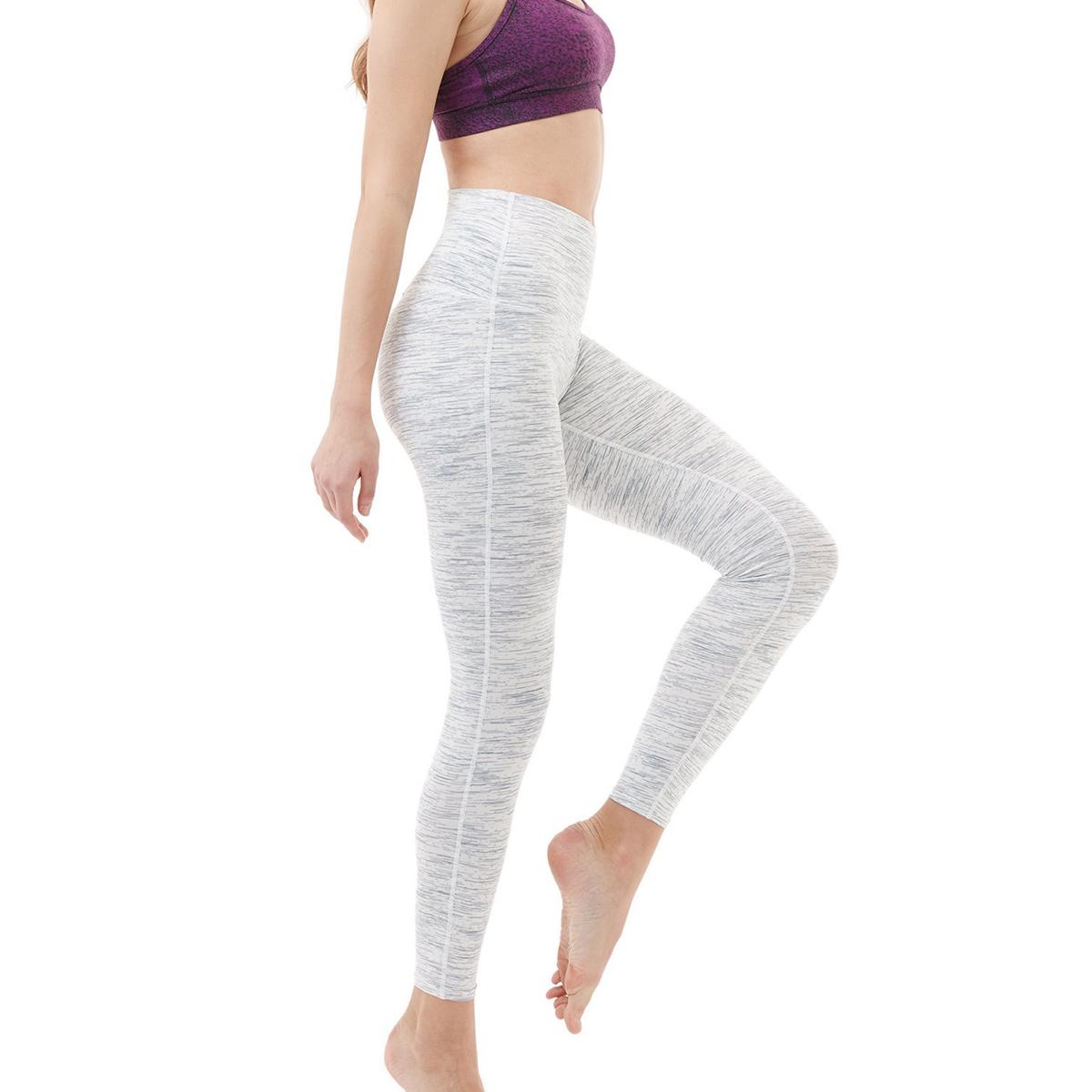 thumbnail 106 - TSLA Tesla FYP42 Women's High-Waisted Ultra-Stretch Tummy Control Yoga Pants