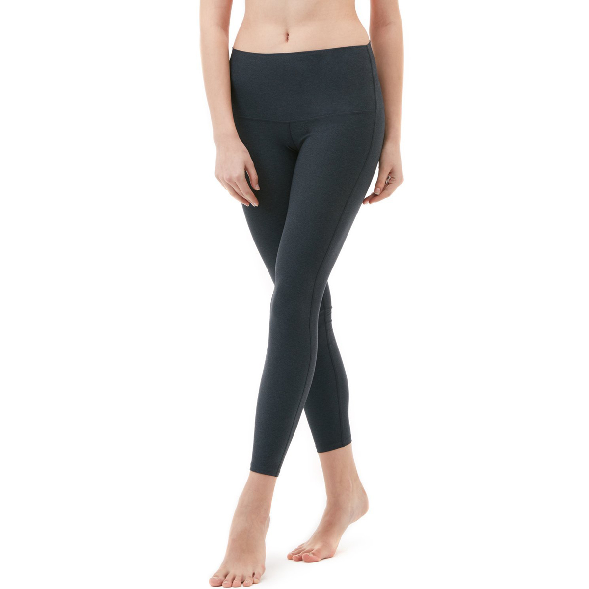 thumbnail 12 - TSLA Tesla FYP42 Women's High-Waisted Ultra-Stretch Tummy Control Yoga Pants