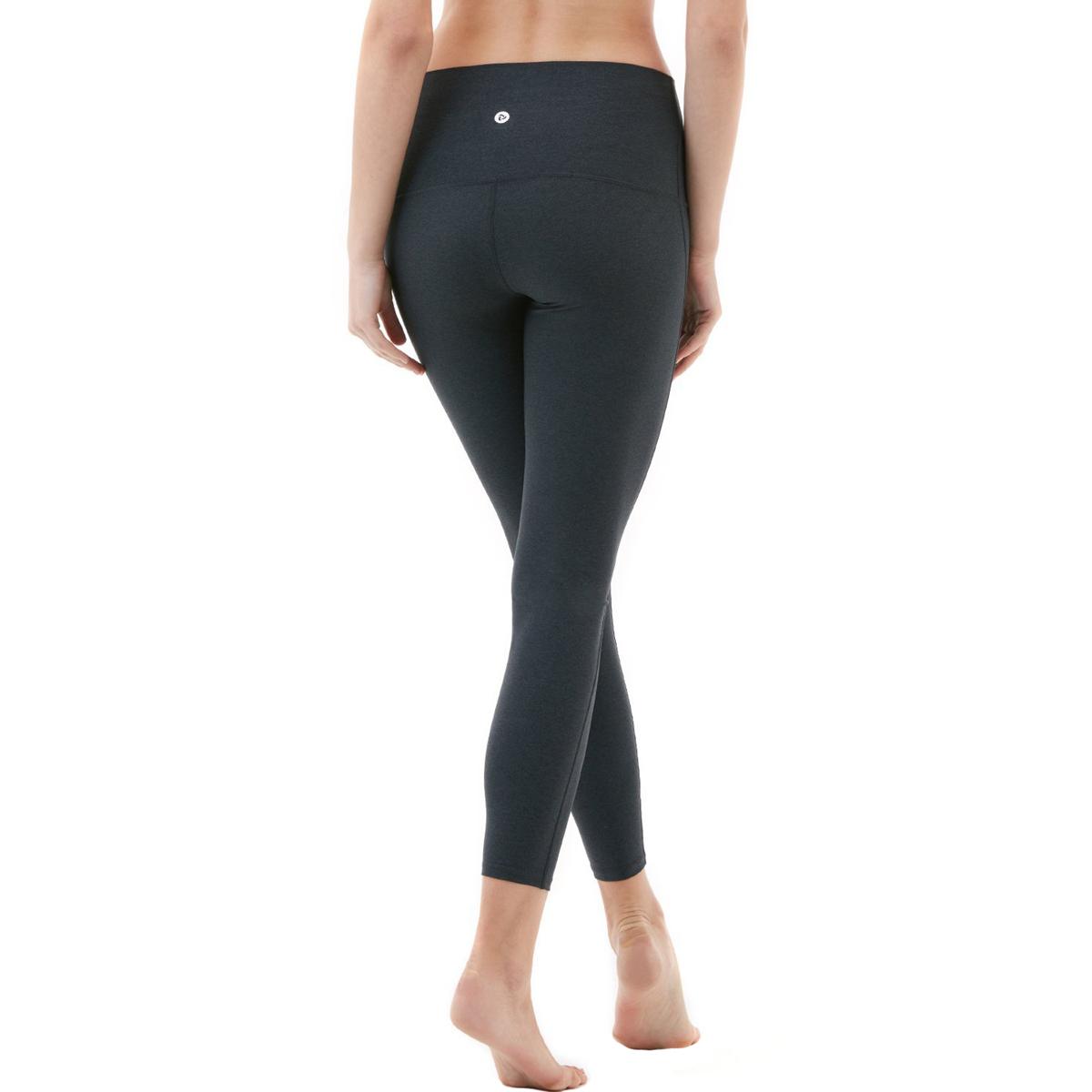 thumbnail 16 - TSLA Tesla FYP42 Women's High-Waisted Ultra-Stretch Tummy Control Yoga Pants