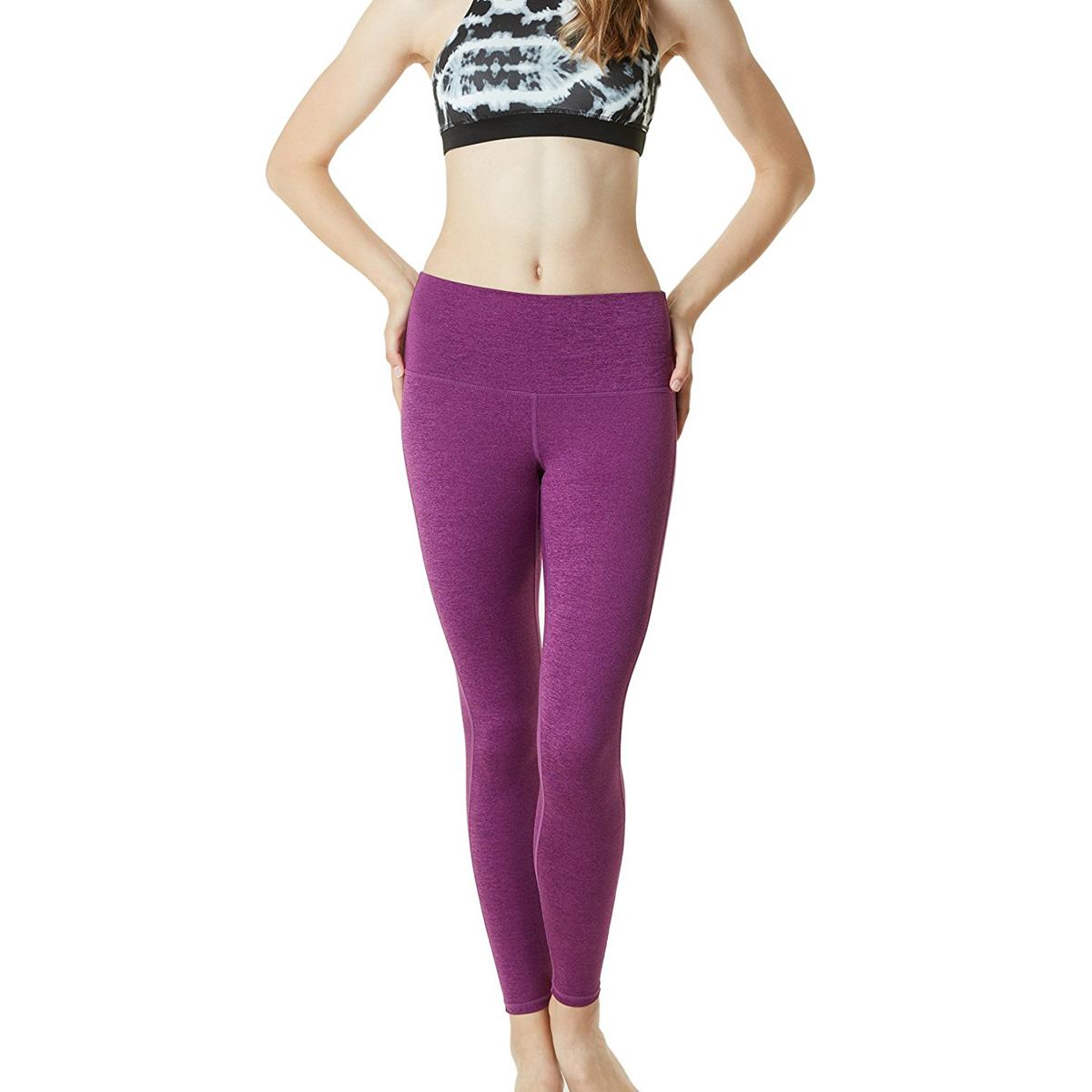 thumbnail 17 - TSLA Tesla FYP42 Women's High-Waisted Ultra-Stretch Tummy Control Yoga Pants