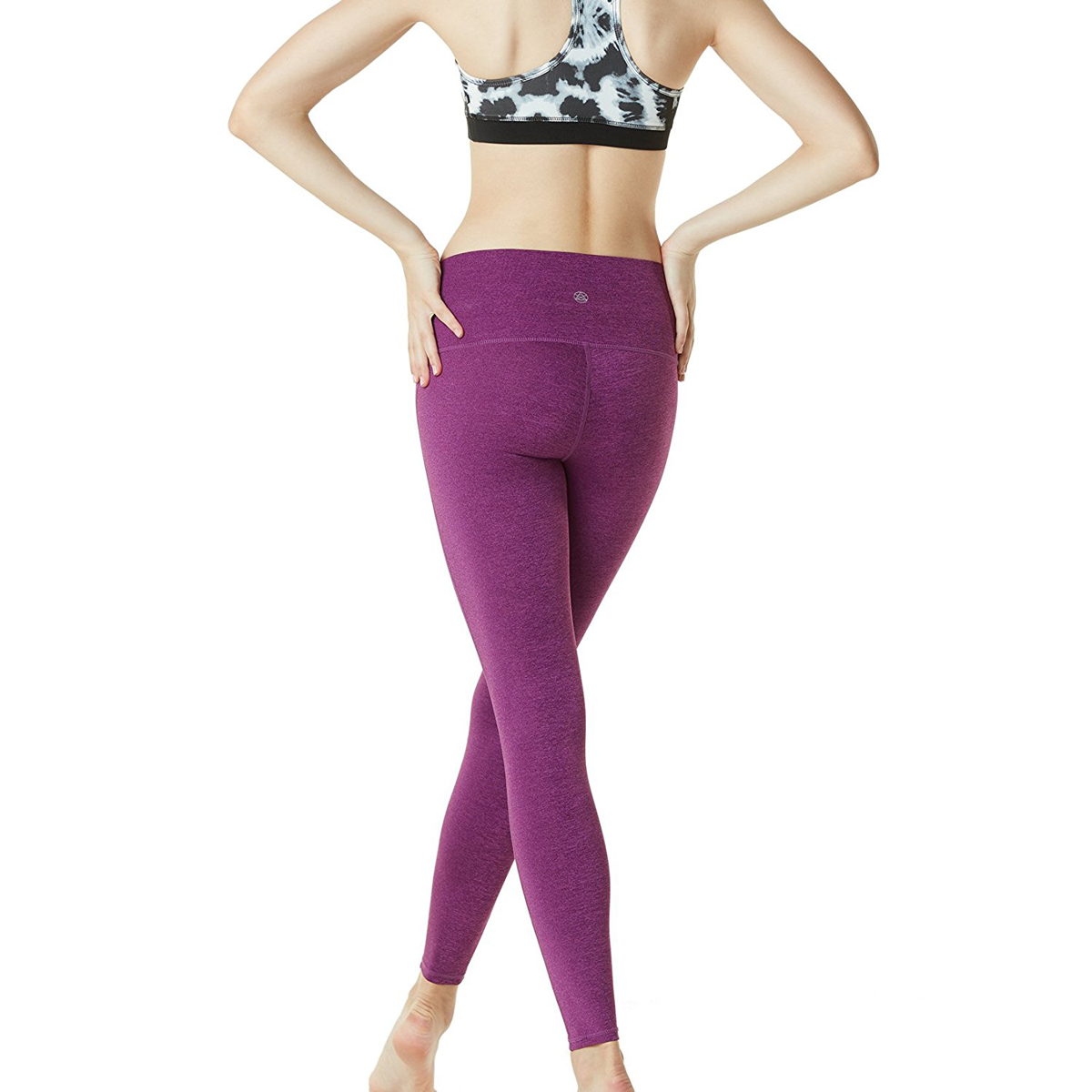 thumbnail 20 - TSLA Tesla FYP42 Women's High-Waisted Ultra-Stretch Tummy Control Yoga Pants