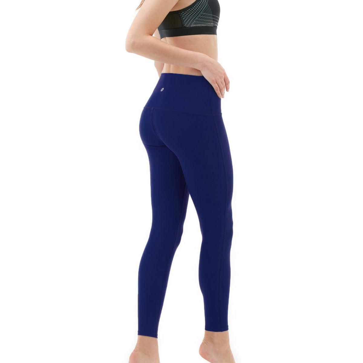 thumbnail 27 - TSLA Tesla FYP42 Women's High-Waisted Ultra-Stretch Tummy Control Yoga Pants