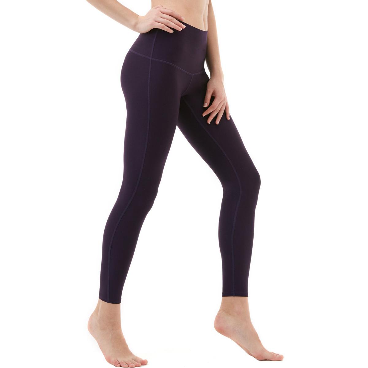 thumbnail 30 - TSLA Tesla FYP42 Women's High-Waisted Ultra-Stretch Tummy Control Yoga Pants