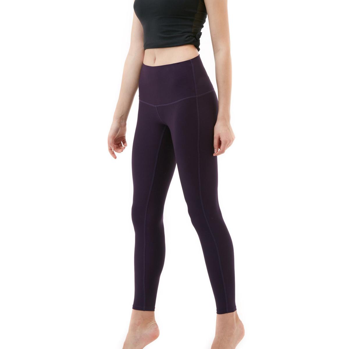 thumbnail 31 - TSLA Tesla FYP42 Women's High-Waisted Ultra-Stretch Tummy Control Yoga Pants