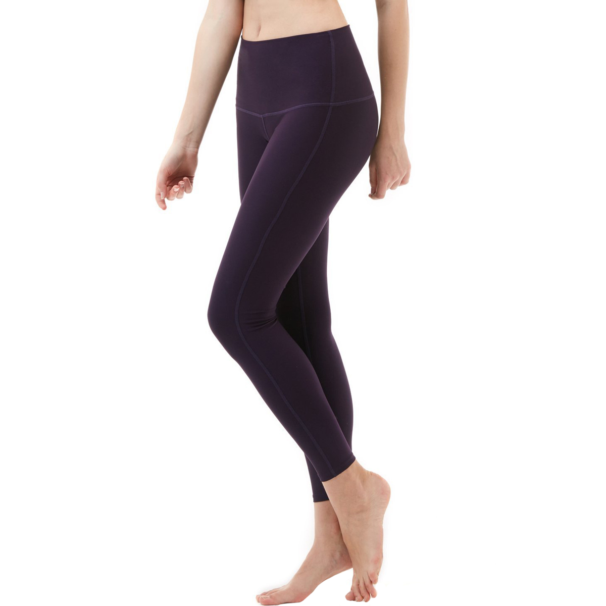 thumbnail 32 - TSLA Tesla FYP42 Women's High-Waisted Ultra-Stretch Tummy Control Yoga Pants