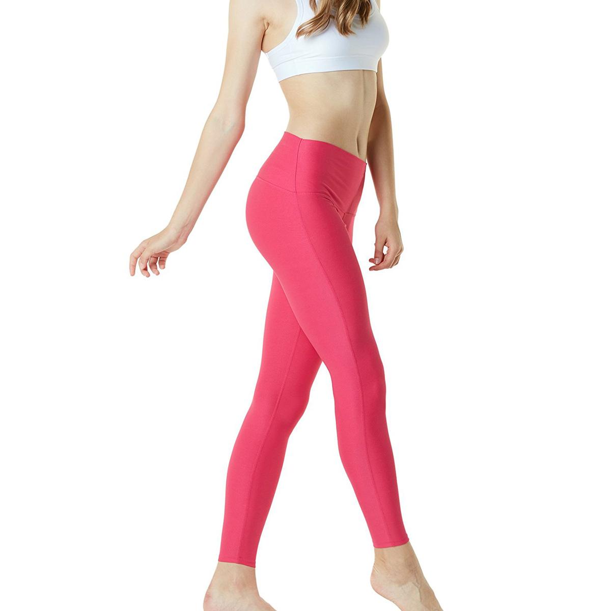 thumbnail 39 - TSLA Tesla FYP42 Women's High-Waisted Ultra-Stretch Tummy Control Yoga Pants