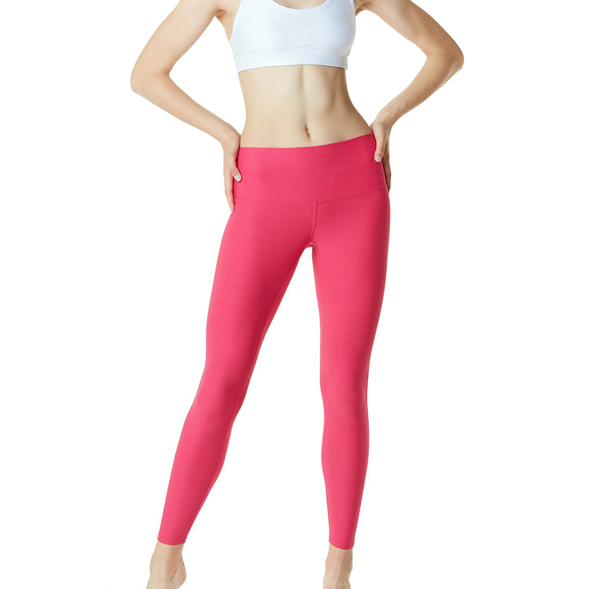thumbnail 40 - TSLA Tesla FYP42 Women's High-Waisted Ultra-Stretch Tummy Control Yoga Pants