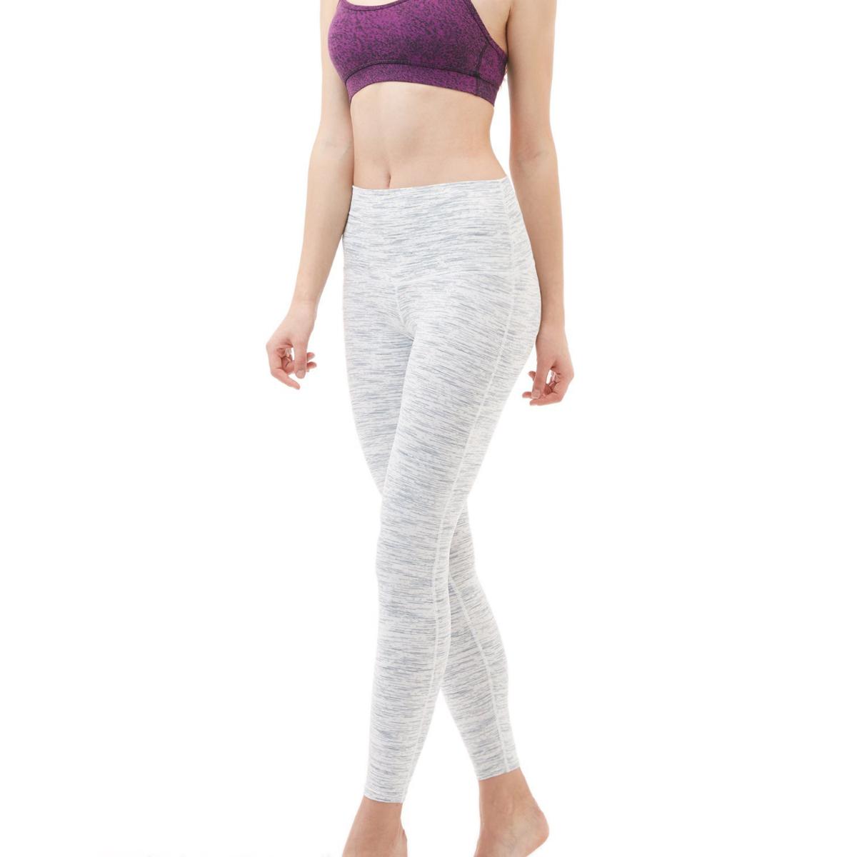 thumbnail 102 - TSLA Tesla FYP42 Women's High-Waisted Ultra-Stretch Tummy Control Yoga Pants
