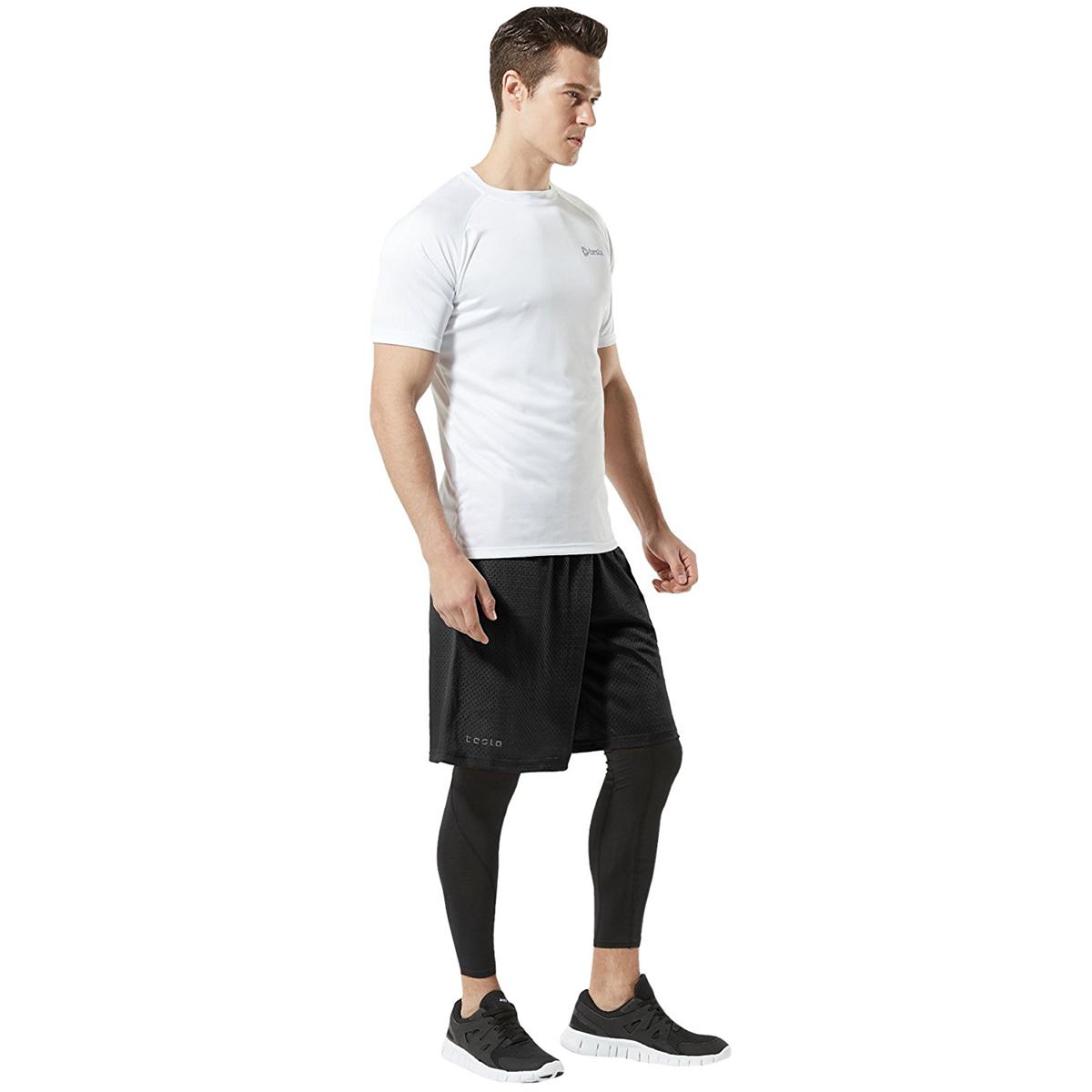 TSLA Boys Active Shorts Sports Performance Youth HyperDri w Pockets Pack of 1, 2