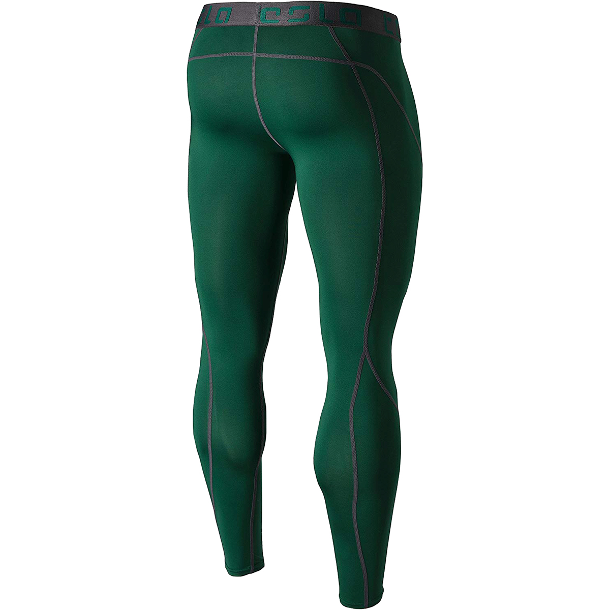 2d508c83babbd Tesla MUP19 Cool Dry Baselayer Compression Pants - Small - Green/Dark Gray