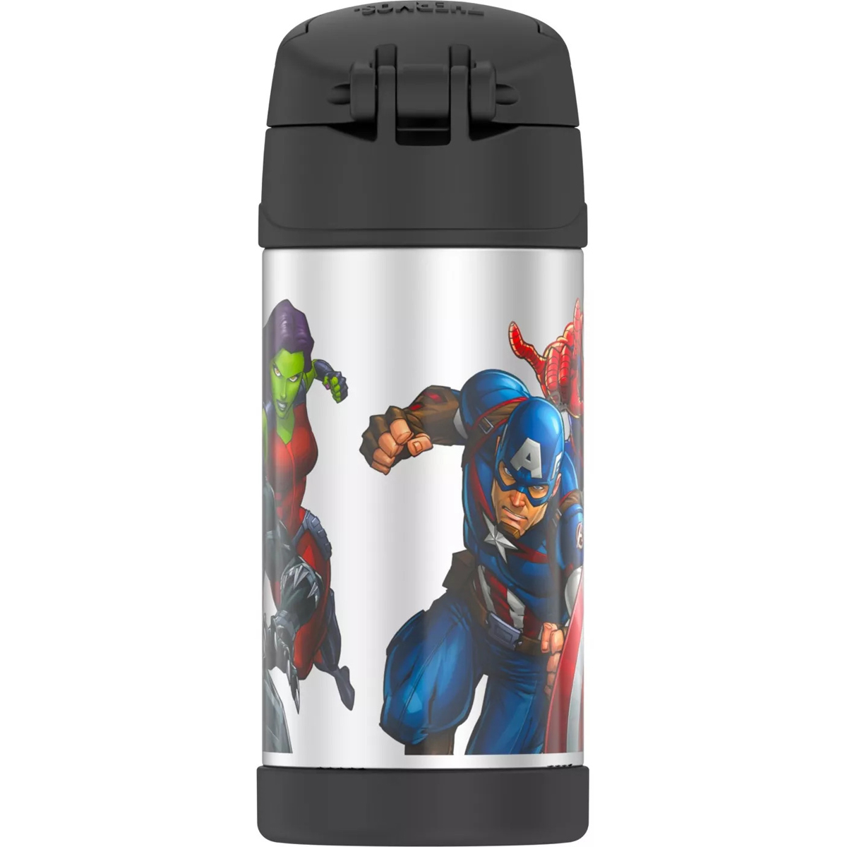 thumbnail 12 - Thermos-12-oz-Kid-039-s-Funtainer-Vacuum-Insulated-Stainless-Steel-Water-Bottle