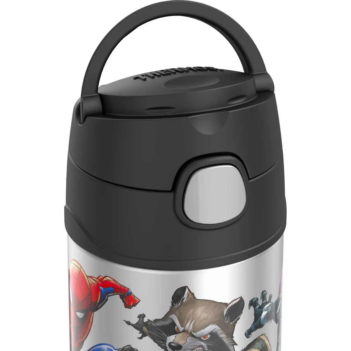 thumbnail 13 - Thermos-12-oz-Kid-039-s-Funtainer-Vacuum-Insulated-Stainless-Steel-Water-Bottle