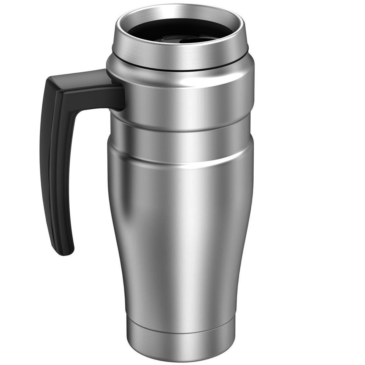 thumbnail 24 - Thermos 16 oz. Stainless King Insulated Stainless Steel Travel Mug with Handle