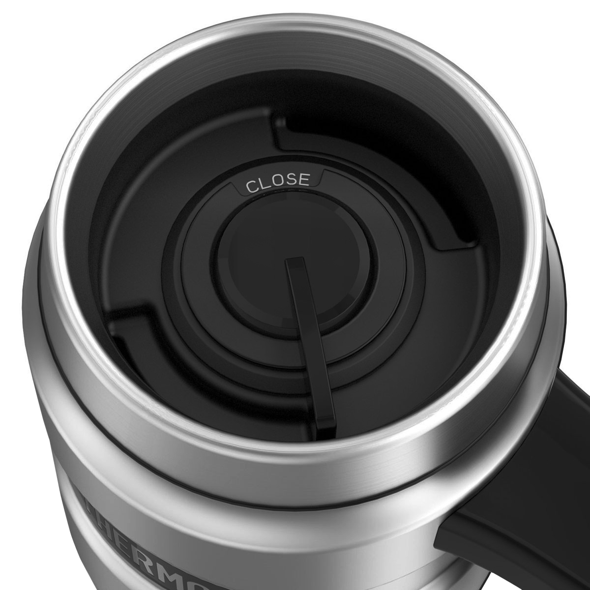 thumbnail 25 - Thermos 16 oz. Stainless King Insulated Stainless Steel Travel Mug with Handle