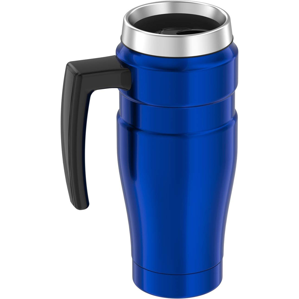 thumbnail 8 - Thermos 16 oz. Stainless King Insulated Stainless Steel Travel Mug with Handle