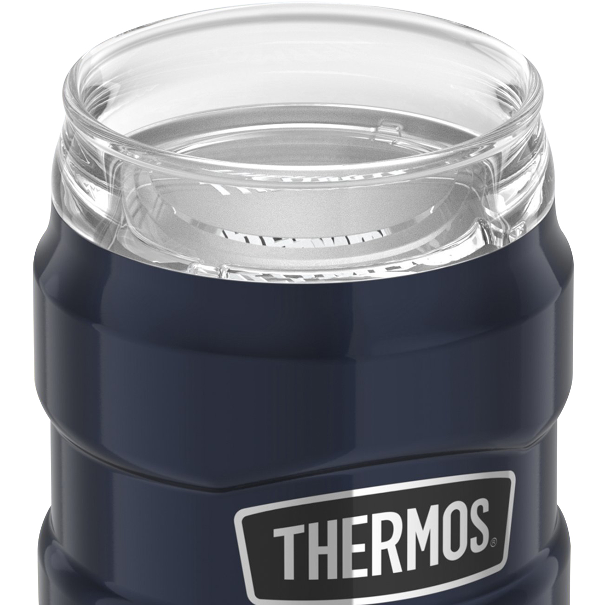 thumbnail 7 - Thermos-10-oz-Stainless-King-Stainless-Steel-Can-Insulator-Tumbler
